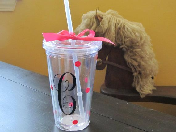Cute cups with straws